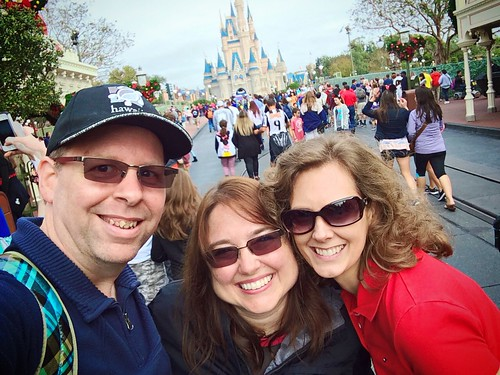New Year's Day at Magic Kingdom