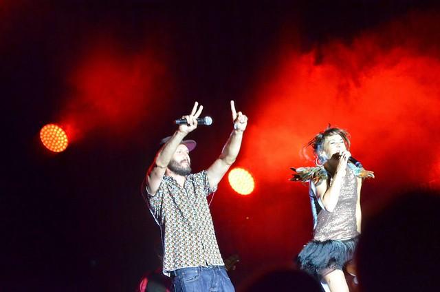 5 août 2014 : concert de ZAZ