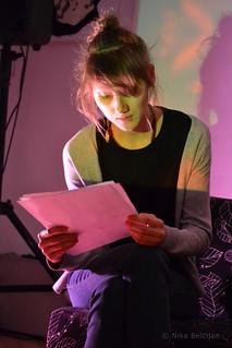 Lezbična četrt 2014; Nova roza - besede, video, zvok; Cafe Kolaž