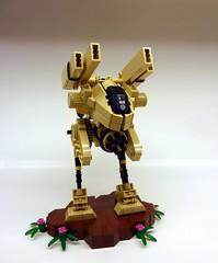 Guard X2 (SuperHardcoreDave) Tags: war lego walker fantasy weapon mecha bipedal mech moc dcifi