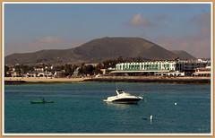 Canary islands, Fuerteventura, Corralejo (aad.born) Tags: espaa spain fuerteventura espana canaryislands spanje loslobos islascanarias corralejo  canarischeeilanden  corralejobeach aadborn