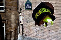 (Ccile Pommeron) Tags: streetart paris montmartre rue 75018 foyatier