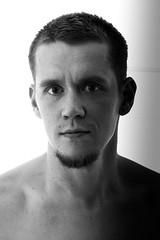 20141214-150429 (Petri Blomqvist) Tags: bw selfportrait olympus 45mm selfie offcameraflash strobist canonspeedlite430exii olympusmzuikodigital45mmf18 yongnuoyn560ii yongnuoyn622c
