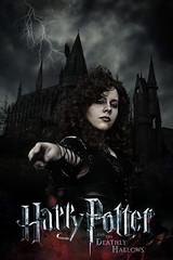 Bellatrix (Eduardo 400D) Tags: dark model cosplay gothic harrypotter modelo fotografia hogwarts bellatrix