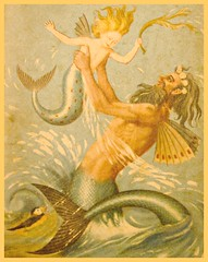 5170. Mermaids and Sea Creatures (Di's Eyes) Tags: 9 bookcover fairytales odc mythologicalcreature 115picturesin2015