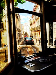 Tram 28 takes you thru Lisboa.