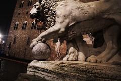 Piazza della signoria - Firenze (alestaleiro) Tags: florence italia lion leon tuscany florencia firenze piazza toscana palazzo esculpture leo piazzadellasignoria vechio escutura alestaleiro