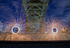 Steel Wool Spinning - Pittsburgh, PA (JayCass84) Tags: street camera longexposure nightphotography urban beautiful night photography photo nikon flickr pittsburgh pennsylvania awesome streetphotography slowshutter flick pgh streetview urbanphotography 412 burgh steelwool d610 steelcity steelwoolspinning instagram instagramapp steelwoolphotography nikond610