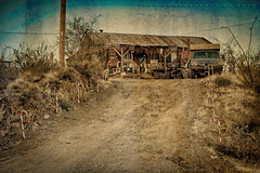 Christmas in Cleater AZ (DGC Photography.ca) Tags: christmas arizona az ghosttown candycanes cleater dougcallow