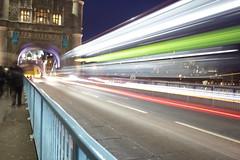 Tower Bridge Light Stream (updownmo) Tags: uk longexposure bridge light lightpainting building london beautiful londonbridge awesome explore architects 2015 lightstream lightsteam loneexposure colourfulness