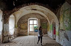 A művész és a közönség (The Artist and the Public) (kgyd) Tags: ilona vár imre ukrajna kastély munkács kárpátalja thököly várkastély zrínyi művésztelep beregszentmiklós