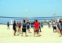 beach games (frankieleon) Tags: california game beach interestingness interesting sand bestof play cc creativecommons popular vollyball frankieleon