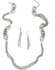 5th Avenue Silver Necklace K1 P2210-1 (2)