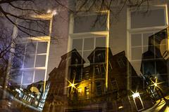 January 6, 2015 (Amanda Catching) Tags: city longexposure morning light vancouver doubleexposure line east