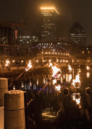 Burning Bright into the New Year. Photo by Elaine Fredrick.
