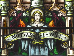 Detail of an Angel in the Mrs. A. B. Wright Stained Glass Window Tribute to the Sacrifice of Women During the Two World Wars featuring Jesus in the Garden of Gethsemane; St Kilda Presbyterian Church - Corner Barkley Street and Alma Road, St Kilda (raaen99) Tags: building window glass saint architecture religious memorial wwi wwii religion jesus gothic 19thcentury victorian australia melbourne stainedglass victoria worldwarii worldwari 1940s victoriana bible warmemorial greatwar 1886 stainedglasswindow stkilda biblical 1949 presbyterian secondworldwar nineteenthcentury gothicarchitecture placeofworship 1880s gothicchurch gospels gothicbuilding presbyterianchurch gothicstyle twentiethcentury almaroad ralphwilson melbournearchitecture gothicrevivalarchitecture religiousbuilding gothicrevivalstyle navewindow bookofmatthew almard barkleyst malesaint gothicrevivalbuilding inmemorandum barkleystreet stkildachurch jesusinthegardenofgethsemane architecturallydesigned gothicrevivalchurch boomperiod brooksrobinsonco stkildapresbyterianchurch johnbeswicke gothicdetail memorialstainedglass twentiethcenturystainedglass brooksrobinsonandco brooksrobinsoncompany mrsabwright mrsabwrightmemorialwindow mrsabwrightmemorialstainedglasswindow wilsonandbeswicke presbyterianchurchofstkilda wilsonbeswicke