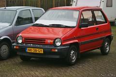 1985 Honda Jazz 1.2 Luxe Hondamatic (NielsdeWit) Tags: favorite honda jazz ede favourite hondajazz nielsdewit sidecode4 nk38gy