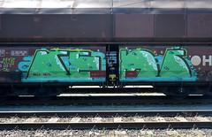 graffiti amsterdam (wojofoto) Tags: holland amsterdam graffiti nederland netherland freighttrain cargotrain rems freighttraingraffiti wolfgangjosten wojofoto vrachttrein