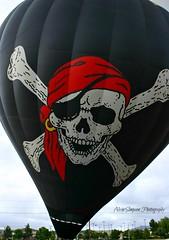 The Black Pearl (alvinsimpson86) Tags: black skull balloon flight pirate crossbones
