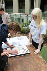 PZ20160513-029.jpg (Menlo Photo Bank) Tags: ca boy people usa game students girl sign us spring quad science event smallgroup atherton 2016 engaging upperschool makerfaire menloschool photobypetezivkov appliedscienceresearch