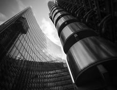 Face Off (ereid88) Tags: uk blackandwhite architecture buildings londonengland