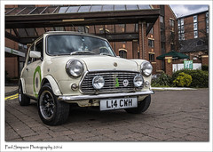 Classic Mini L14 CWH (Paul Simpson Photography) Tags: car mini lincolnshire lincoln motor parkedcar carshow classicmini photosof imageof photoof imagesof sonya77 paulsimpsonphotography april2016 l14cwh