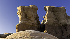 02469173-76- Devil's Garden Sand Stone Landscape-1 (Jim There's things half in shadow and in light) Tags: nature landscape utah sandstone desert may hoodoo escalante 2016 devilsgarden devilsplayground grandstaircaseescalantenationalmonument holeintherockroad cannon5dmarkiii