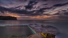 Bilgola Beach Sunrise 2 (RoosterMan64) Tags: longexposure seascape clouds sunrise au australia nsw newsouthwales rockpool northernbeaches leefilters bilgolabeach