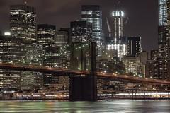 Brooklyn bridge (karinavera) Tags: street city nyc longexposure travel bridge newyork building architecture brooklyn river cityscape manhattan nikond5300