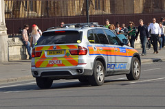 BK61 WMO (Emergency_Vehicles) Tags: london police bmw vehicle metropolitan response armed x5 cef bk61wmo