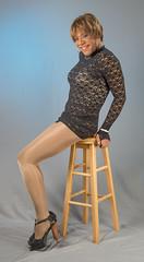 Very Leggy Indeed! (kaceycd) Tags: pumps highheels s tgirl seethrough bodysuit stilettoheels pantyhose crossdress spandex lycra tg leotard stilettos seethru minidress sexypumps opentoepumps platformpumps stilettopumps peeptoepumps tstrappumps anklestrappumps