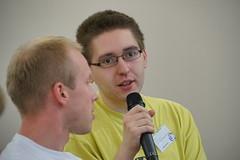 Dyskusja (Borys Kozielski) Tags: wikipedia wikimedia coference wikimediapolska