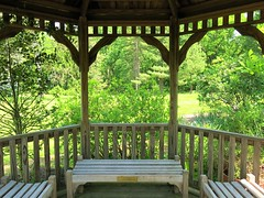 Cylburn Arboretum ~ gazebo bench - HBM! (karma (Karen)) Tags: trees maryland baltimore benches bushes gazebos hbm cylburn viewbeyond arboretums benchmonday