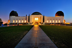 Griffith Observatory (Rebecca Ang (AWAY)) Tags: california ca city light urban usa architecture night la losangeles twilight cityscape bluehour griffithobservatory griffith thebluehour rebeccaang