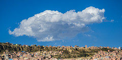 Las nubes y la ciudad (Andrs Photos 2) Tags: streets bolivia ciudad lapaz calles altiplano sudamerica elalto lasbrujas