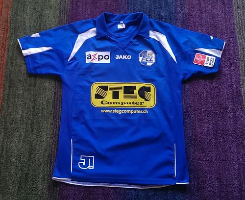 FC Luzern match worn shirt 2006/07 Mario Cantaluppi