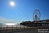 Central Pier (jonnywalker) Tags: sea wheel coast pier seaside bluesky lancashire promenade ferriswheel seafront funfair blackpool centralpier
