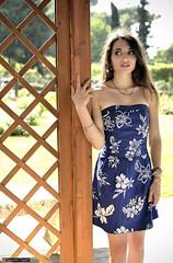 claudia_DSC8378modfirma (manuele_pagani) Tags: blue portrait girl athletic outdoor small claudia ritratto dressed figura intera