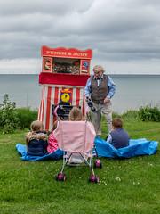 Punch, Punch, Punch & Judy (Rupert Brun) Tags: england june children seaside unitedkingdom fair entertainment gb judy punch whitstable punchandjudy tankerton 2016