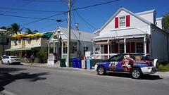 Key West, FL (SomePhotosTakenByMe) Tags: auto city vacation usa holiday building tree car america keys island restaurant unitedstates florida outdoor urlaub palm insel stadt keywest amerika palme baum gebäude floridakeys