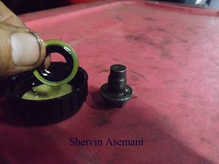 Mastermanship 4 by Shervin Asemani (44) (SheRviNRRR) Tags: drain plug washer gasket lubrication step sitting head
