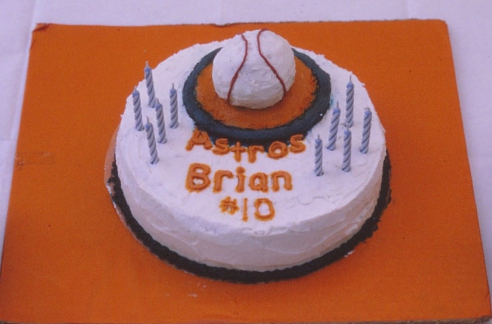 Brians 10th Birthday Stabburs Master Tags Birthdayparty Birthdaycake Astros Kidsbirthdayparty Houstonastros Kidsbirthday