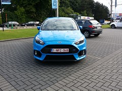 Focus RS (Alessandro_059) Tags: blue ford focus rs 2015