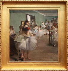 Edgar Degas - The Dancing Class 1874 (ahisgett) Tags: new york art museum met metropolitian