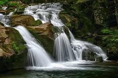 Small waterfall stream (enzo rettori) Tags: landscape waterfall water creek apennines tuscany abetone valdiluce