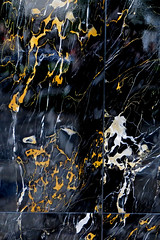 swirly black-white-yellow wall pattern (lisafree54) Tags: white abstract black texture yellow wall design pattern background free swirls swirly swirling cco freephotos