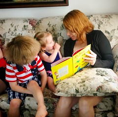 reading time (ekelly80) Tags: michigan grossepointe family independenceday 4thofjuly summer reading drseuss book
