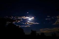 Starry Night (johntomaiphotography.com) Tags: longexposure moon night stars fuji moonlight nightsky starry bluemoon fujixe1 xc1650mm