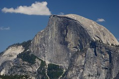 Half Dome and half cloud () Tags: halfdome yosemite california usa unitedstatesofamerica smcpda55300mmf458ed pentax