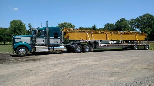 Crane haulin
